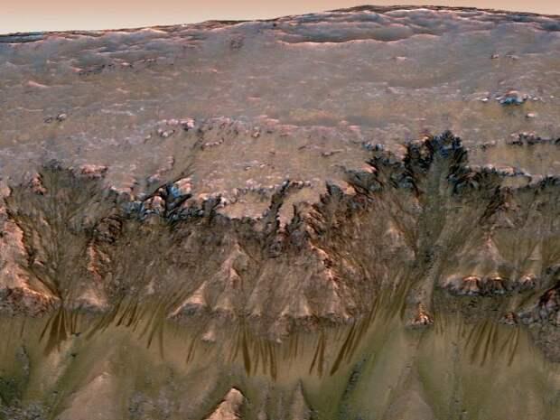 Подземный мир Марса до сих пор благоприятен для жизни