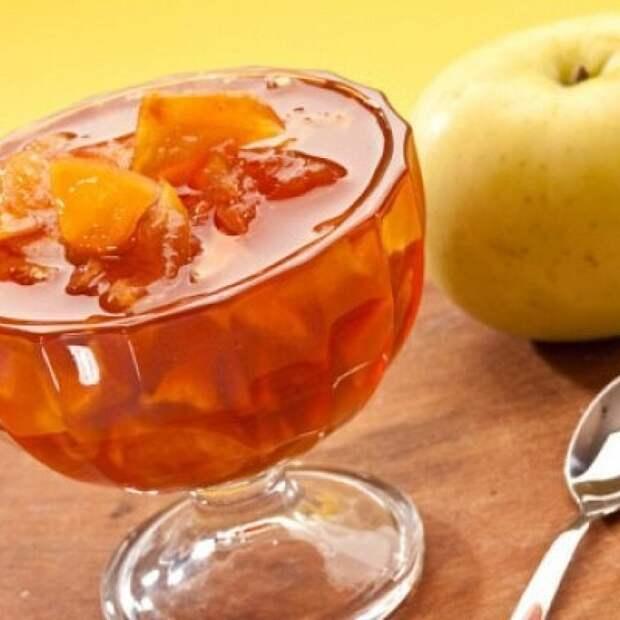 Конфитюр из жареных яблок