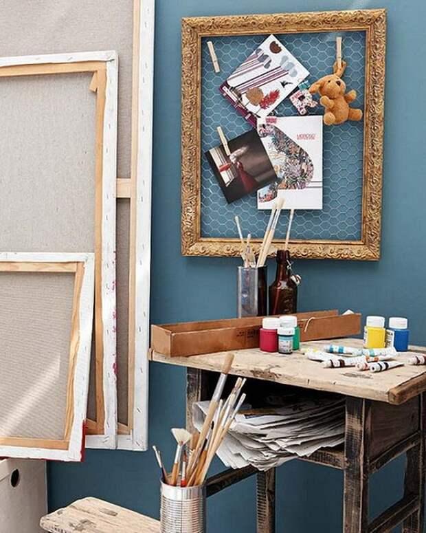 Отличное и очень красивое решение создать место для рукоделия дома, что создаст максимальный комфорт.
