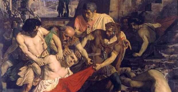 Римская лестница казней Scalae Gemoniae: жуткое место тысяч смертей