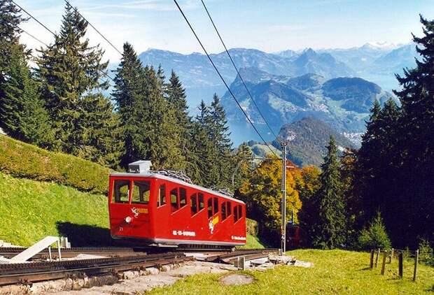 Chbahns70 Топ 5 самых необычных железных дорог Швейцарии