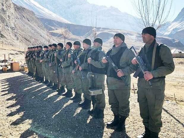 Военную технику стягивают к киргизско-таджикской границе