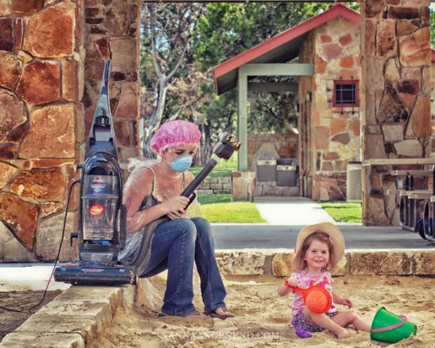 Как на самом деле выглядит жизнь молодой мамы