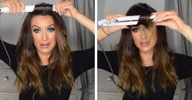 Простые способы сделать очаровательные кудряшки с помощью утюжка для волос