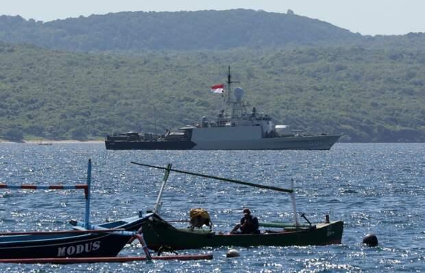 Интересные кадры из Индонезии