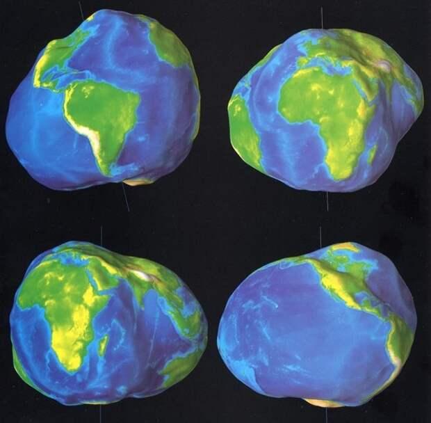 Всемирный потоп все-таки был. Доказательства - на современных картах
