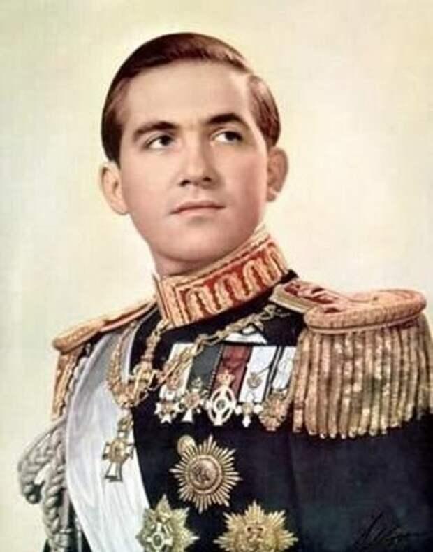 король Константин II