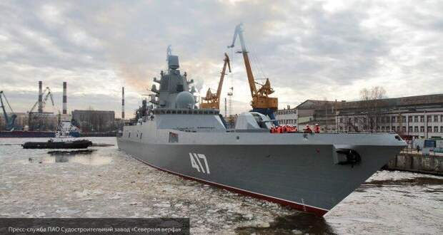 Гениальный трюк России с двигателями для фрегата «Адмирал Горшков» шокировал Украину