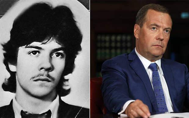 Как с годами изменились Путин, Медведев и еще 7 политиков, которых знают все