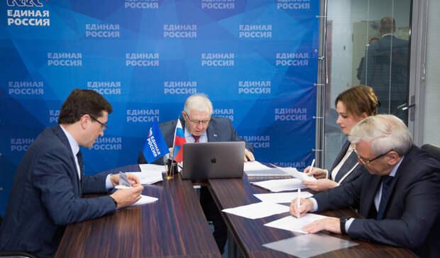Никитин, Люлин иЩетинина возглавят нижегородский список кандидатов напраймериз ЕР
