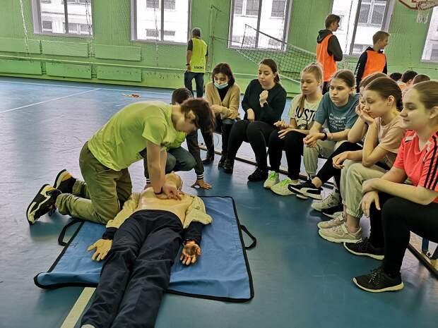 В СЗАО проходят соревнования «Школа безопасности»