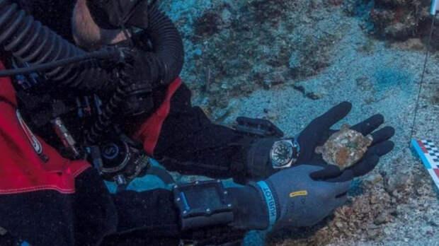 """В Эгейском море нашли """"компьютерную"""" деталь возрастом более 2000 лет"""