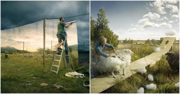 Фотограф-сюрреалист создает невероятные фото, от которых захватывает дух