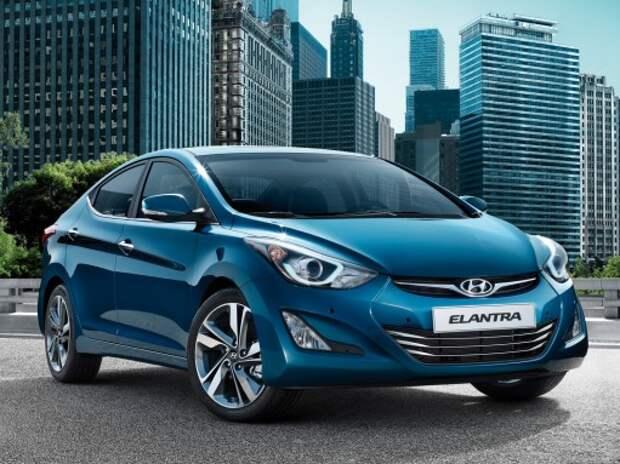 Hyundai разработала зимний пакет опций для модели Hyundai Elantra