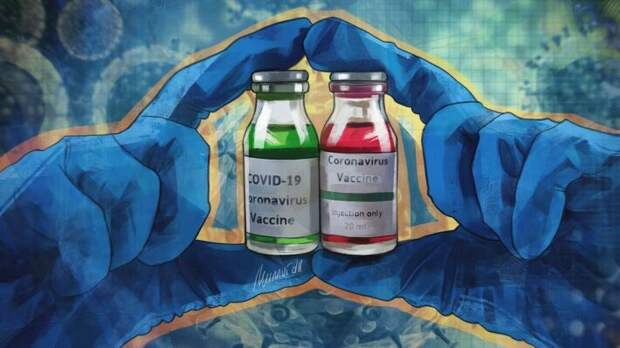 """""""Спутник"""" или """"КовиВак"""": иммунолог рассказал, какой российской вакциной лучше привиться"""