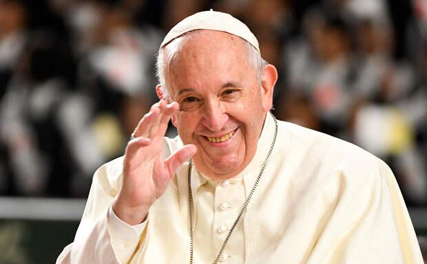 Папа римский Франциск направил приветствие Путину по пути из Японии ::  Политика :: РБК