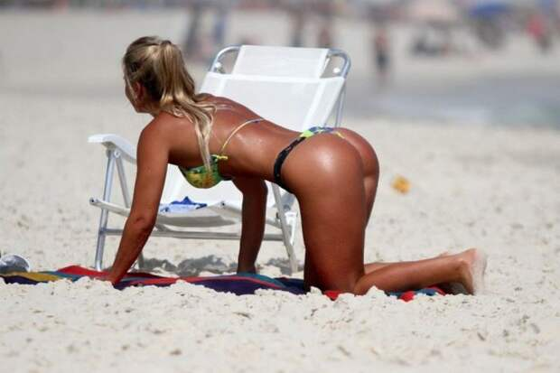 Красотки бразильских пляжей (36 фото)