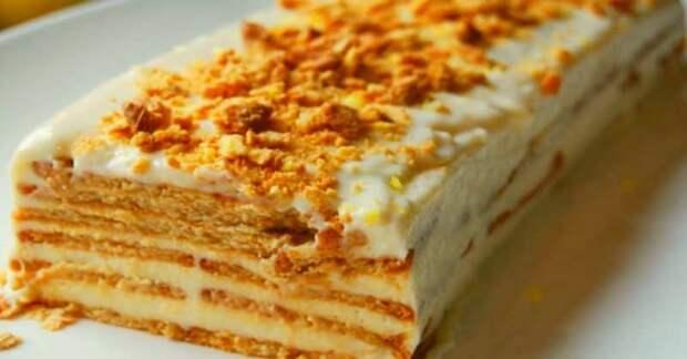 Черносливовый торт: легко приготовить, да вкусно покушать.
