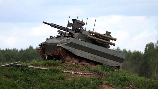 """В США раскрыли перспективы применения российского робота-убийцы """"Уран-9"""""""