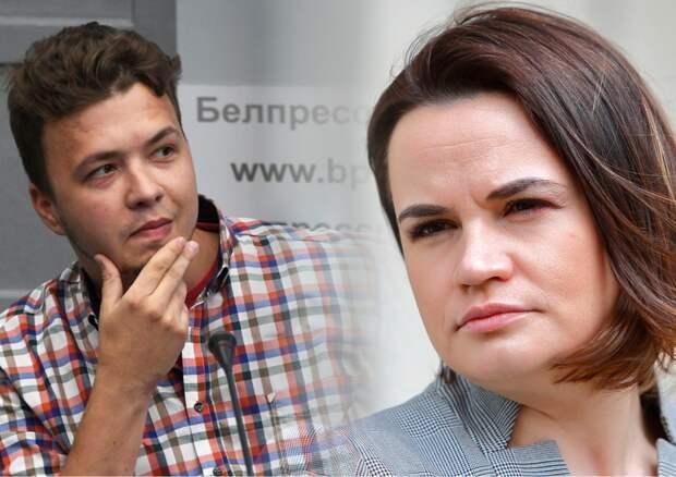 Протасевич раскрыл неудобную для Тихановской подноготную ее визитов на Запад