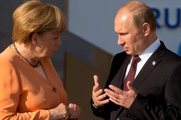 Комсомольская ПРАВДА: Путин в телефонном разговоре с Меркель обсудил кризис на Украине