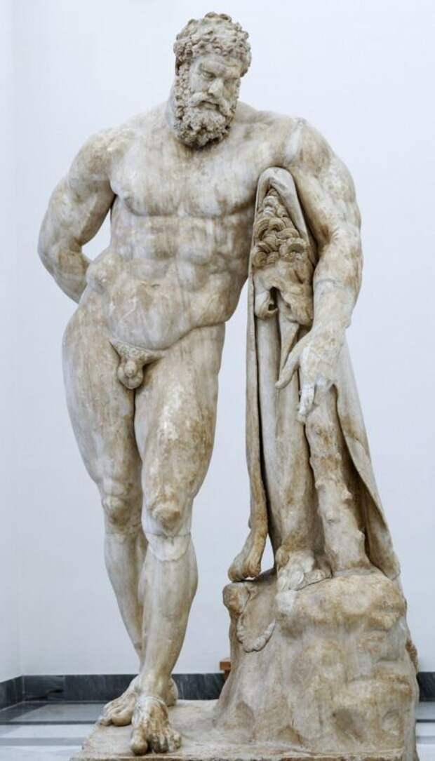6 причин, почему уантичных статуй такие маленькие члены