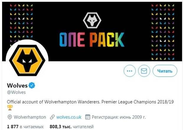«Вулверхэмптон» объявил себя чемпионом АПЛ сезона-2018/2019. Фото-факт