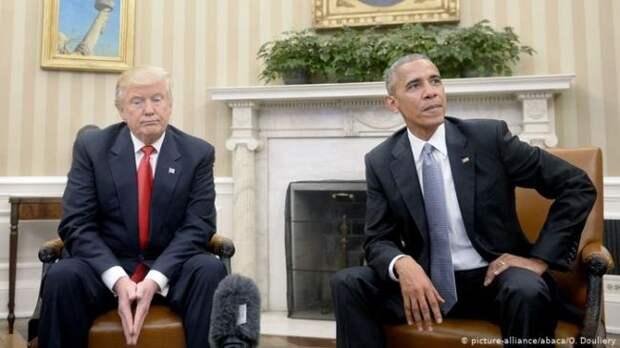 Обама обвинил Трампа вбеспорядках вВашингтоне