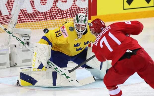 Сборная России обыграла Швецию и выбила соперника из турнира, решающий буллит на счету Тарасенко