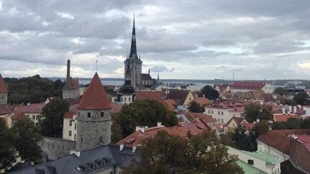 Жители Таллина усыпали цветами памятник Воину-освободителю