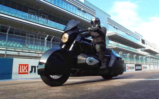 Мотоцикл проекта «Кортеж»: оказывается, он ездит!