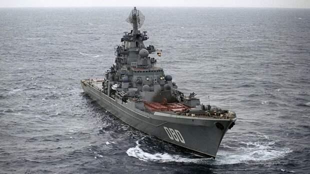Forbes назвал российский крейсер самым мощным в мире