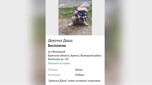 """Жителей Брянска возмутило объявление о """"продаже"""" ребенка"""