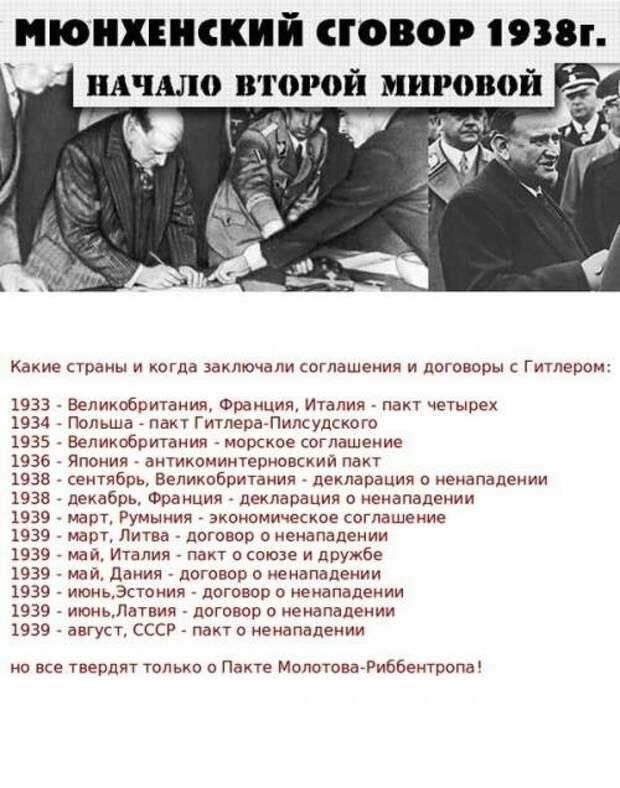 К 82-й годовщине пакта Молотова-Риббентропа.