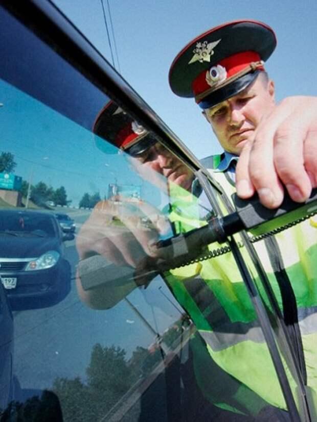 Могут ли привлечь за неповиновение полиции за отказ снять тонировку на месте?