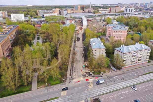 5-й проезд Подбельского соединили с Северо-Восточной хордой
