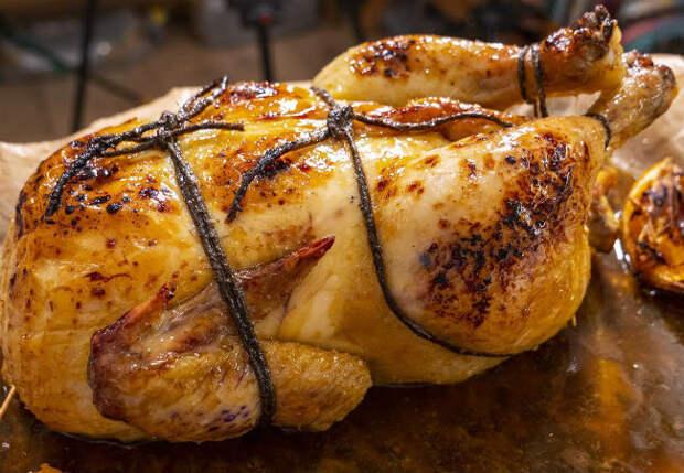 Курица без костей на зимний стол