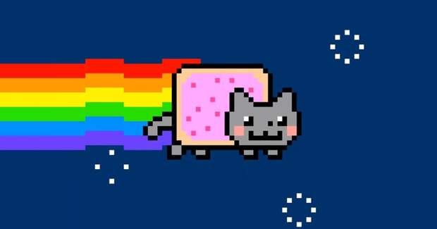 Гифку с Nyan Cat продали за полмиллиона долларов