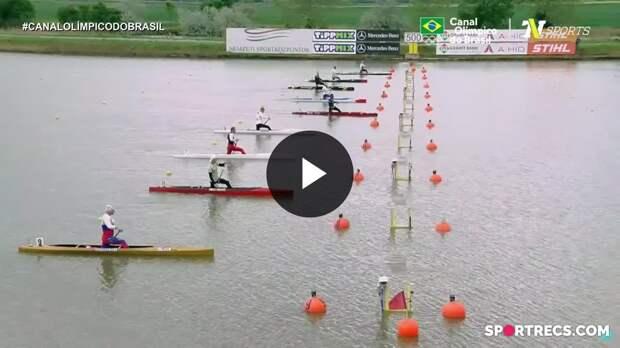 Isaquias Queiroz abandonou a final do C1 500m - Copa do Mundo de canoagem (16/05/2021)