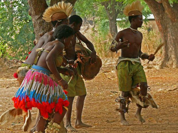 Магические африканские танцы