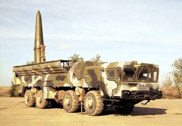 Алжир впервые применил российские ОТРК «Искандер-Э»