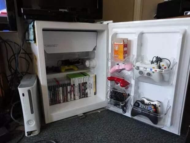 Хранение в старом холодильнике