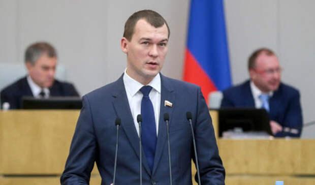 Дегтярев: ВХабаровском крае будет в1,5 раза больше работы для молодежи