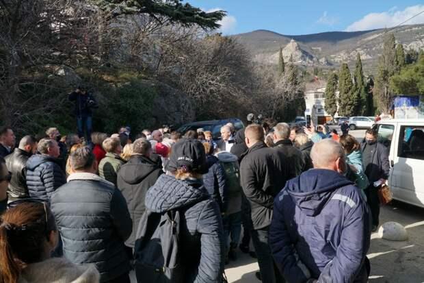 Глава Крыма приехал осмотреть Форосский парк