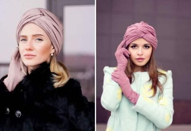 Чем можно заменить шапку зимой и осенью