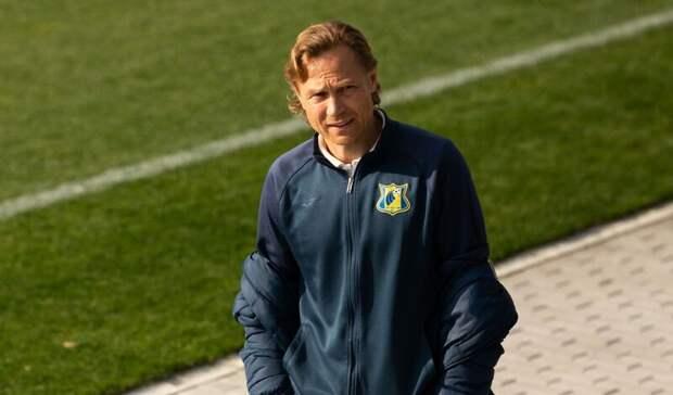 Бросившего в судью бутылку Валерия Карпина дисквалифицировали на три игры