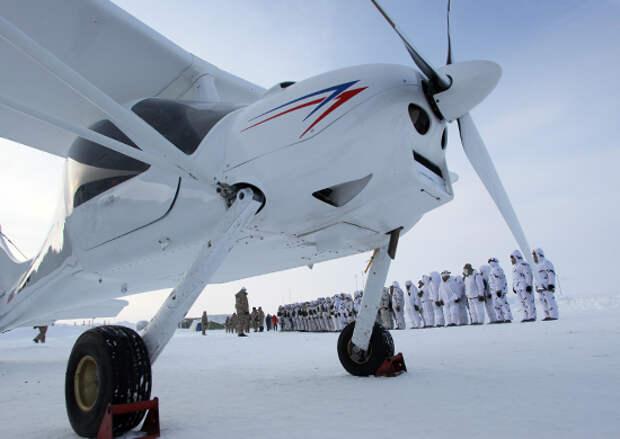 Легкий самолет МАИ-223 успешно участвовал в учениях ВДВ