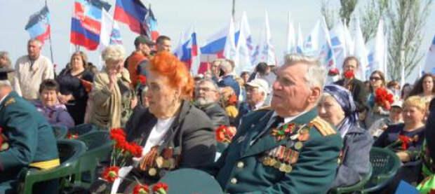 В Донбассе почтили память воинов, павших в боях за Саур-Могилу