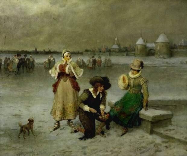 George Henry Boughton - Skating On The Pond.jpg