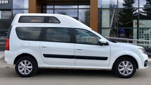 Lada Largus с высокой крышей появится на российском рынке